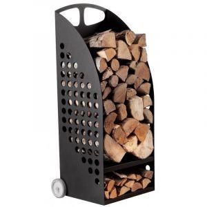 Kaminholzregal  kaminholzständer, Holzwagen für Holzaufbewarung