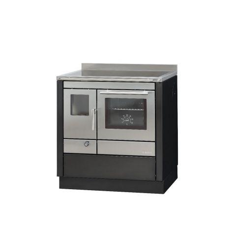 modern Küchenofen Bartz HKC 80/60 anthrazit,  5 kW