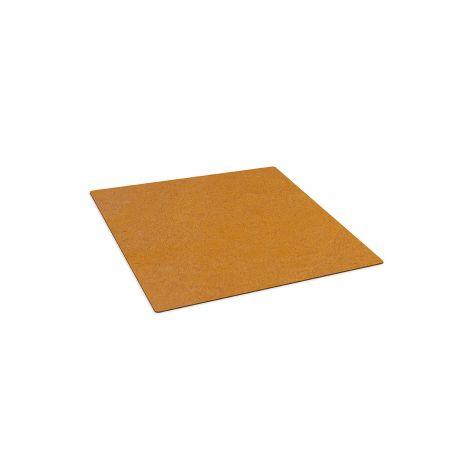 Bodenplatte Cortenstahl, RB73 Piquia 745x595x3