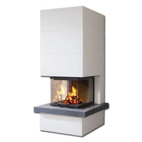 Kaminbausatz Camina S14 mit Feuertisch 9 kW