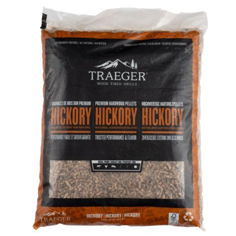 Traeger Hartholz Pellets Hickory, 9 kg Beutel