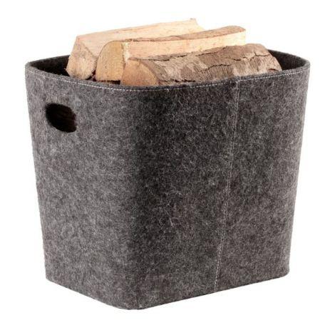 Holzkorb Filz