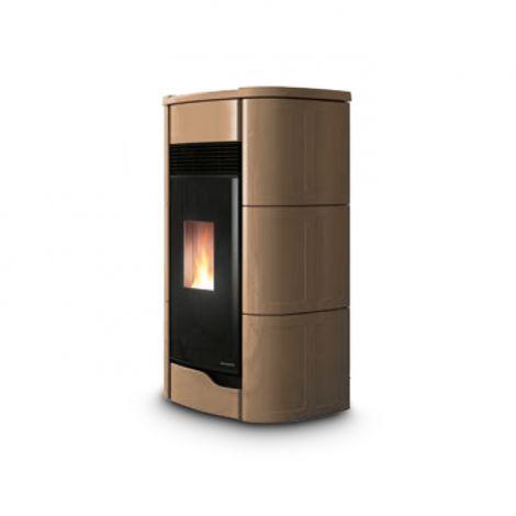 PALAZZETTI Pelletofen ANNA PRO 9 kW Keramik Caffelatte
