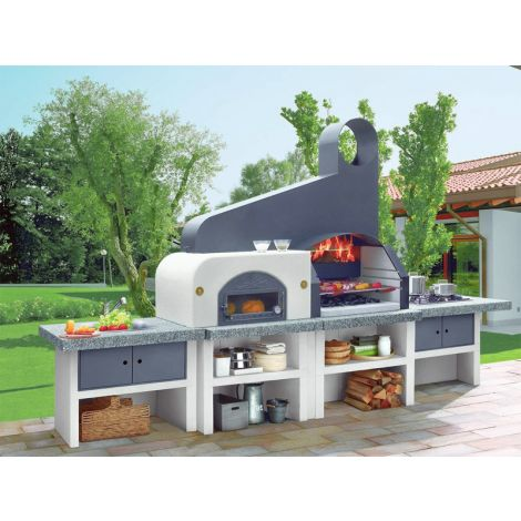 Outdoorküche Palazzetti Maxime 2 mit Backofen